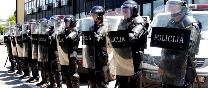 'NIKO NE SME DA VAS BIJE' osim naše milicije