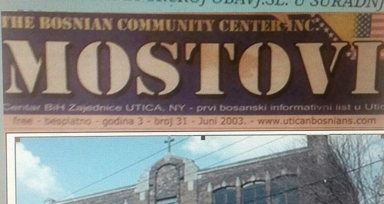 Nekadašnji predsjednik 'Bosanske Zajednice' Utica NY suradnik KOSa?