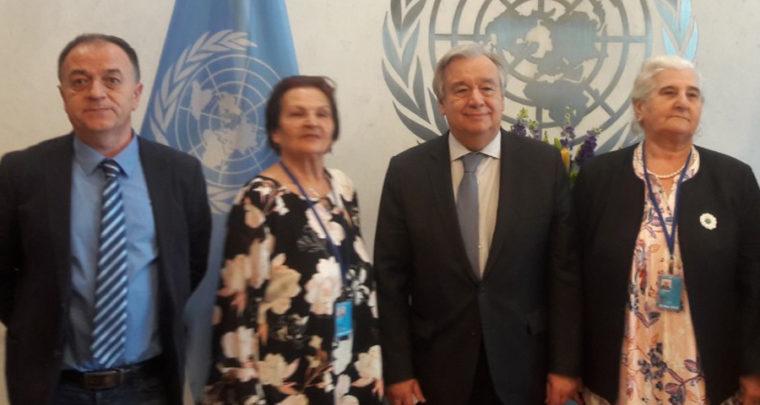 Na kafici sa generalnim sekretarom UNa