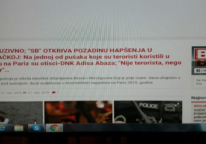 Bosna štiti svoje teroriste