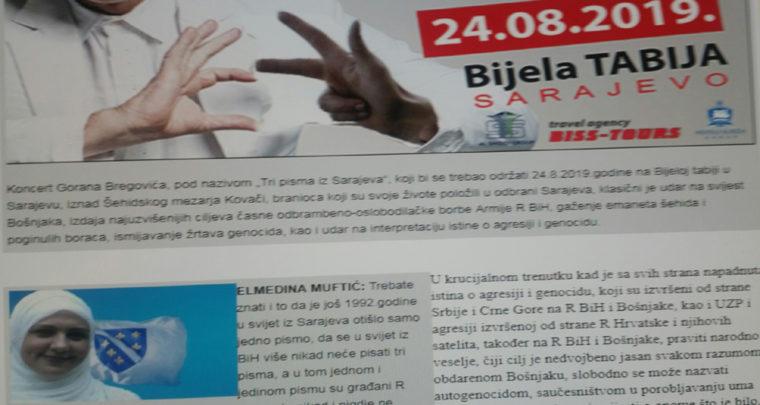 Multiislamsko Sarajevo i genocid Gorana Bregovića