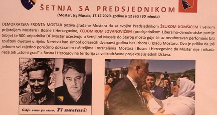 'Titin' desant na Mostar