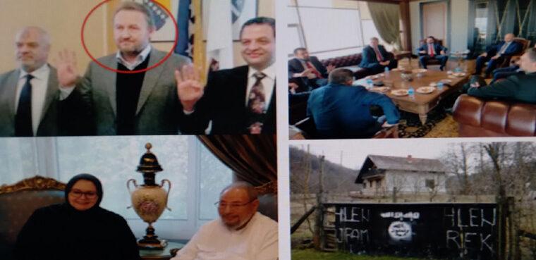 Pričom o susretu Konakovića sa selefijom (Abu Anas) Avdo Avdić stavlja 'metu na čelo' svojim nalogodavcima u vrhu bh vlasti